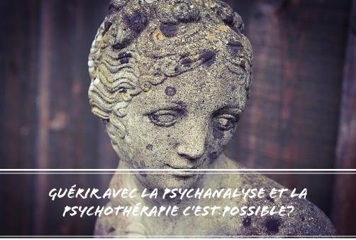 guérir avec la psychanalyse et la psychothérapie
